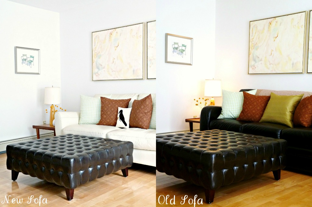Different sofa, different room