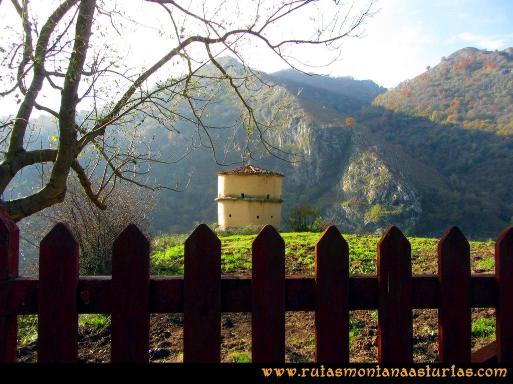 Ruta Baiña, Magarrón, Bustiello, Castiello. Palomar