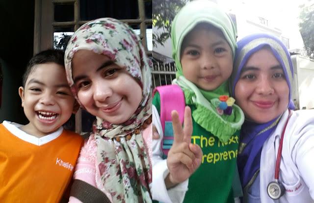 Enda Yuliastini,bunda dari Daffa (alumni) dan Aisyah (TK B)