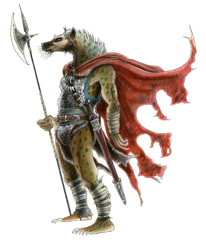 Power Score: Dungeons & Dragons - A Guide to Gnolls