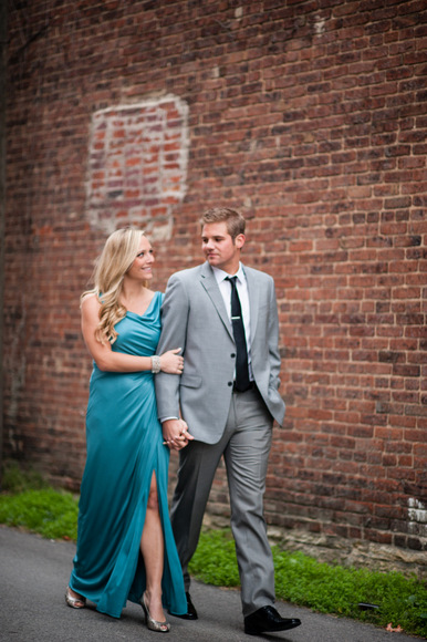 Sophisticated and dressy engagement photos