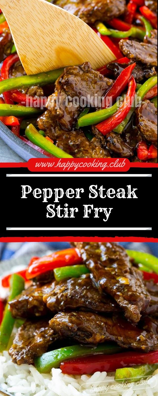 Pepper Steak Stir Fry