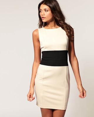 vestido formal blanco corto pegado al cuerpo tumblr de moda