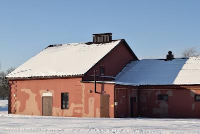 Зимняя Бобруйская крепость