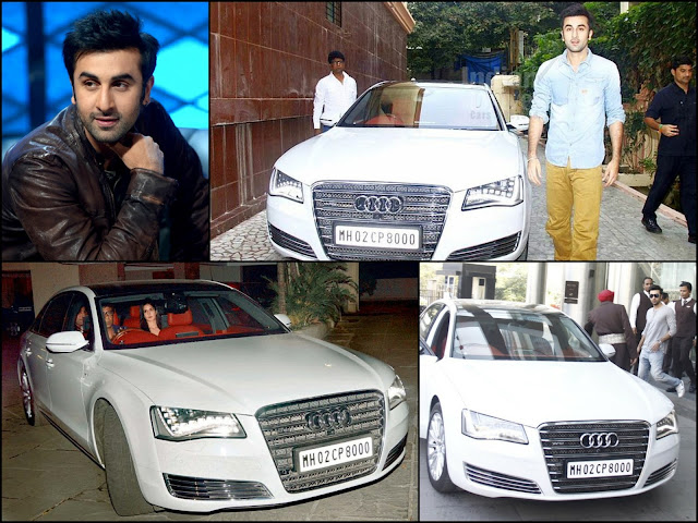 Ranbir Kapoor's cars with lucky number 8