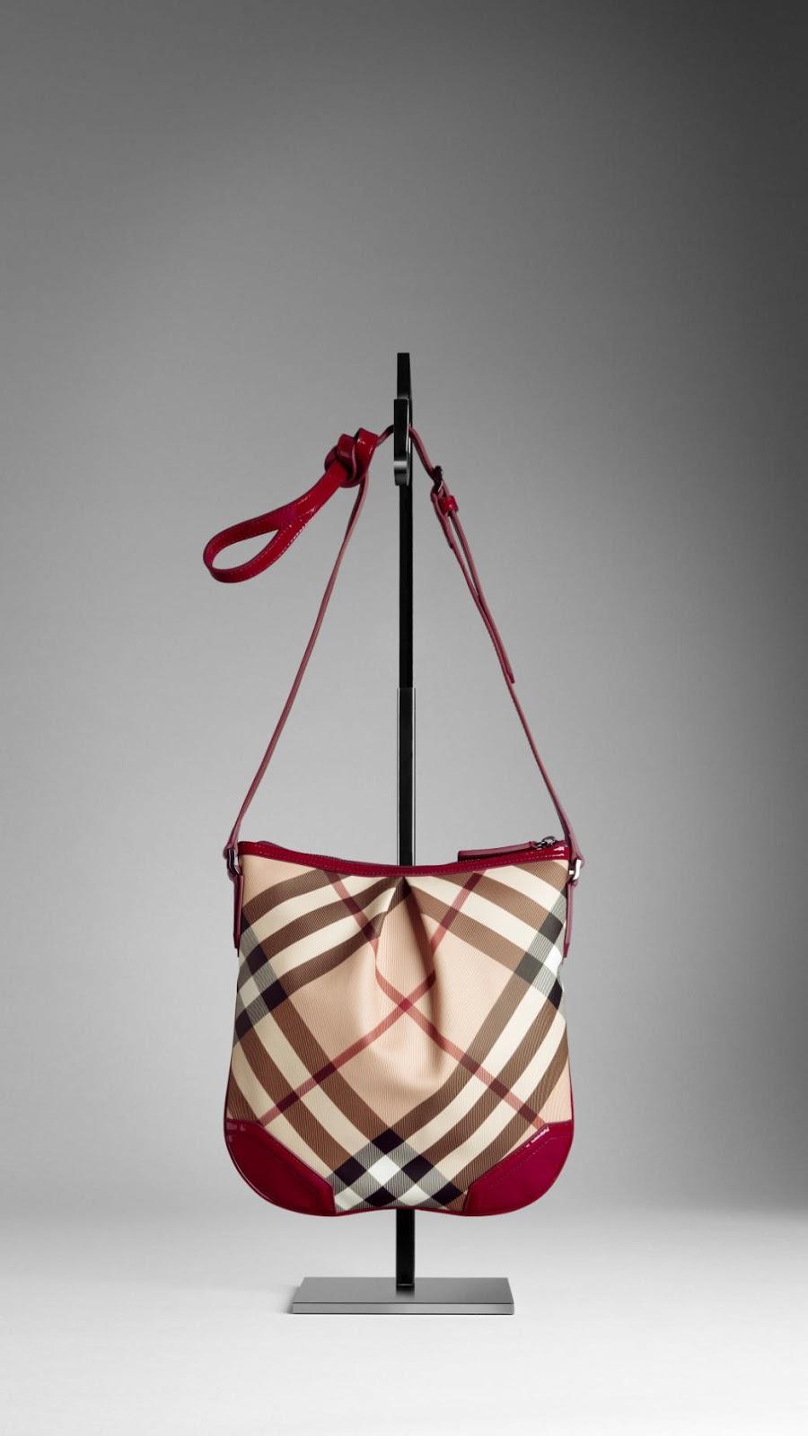 GetheBrandonline: Burberry Crossbody Bags:Burberry Medium Nova Check Crossbody Bag