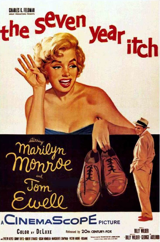 LA TENTACIÓN VIVE ARRIBA (THE SEVEN YEAR ITCH, 1955)