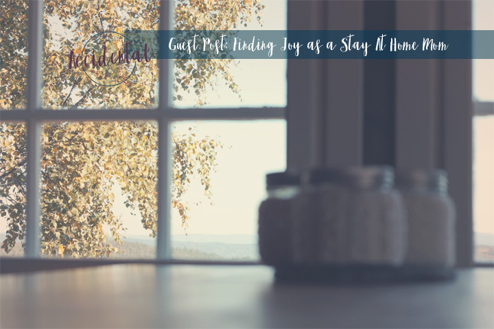 Staying home can be joy