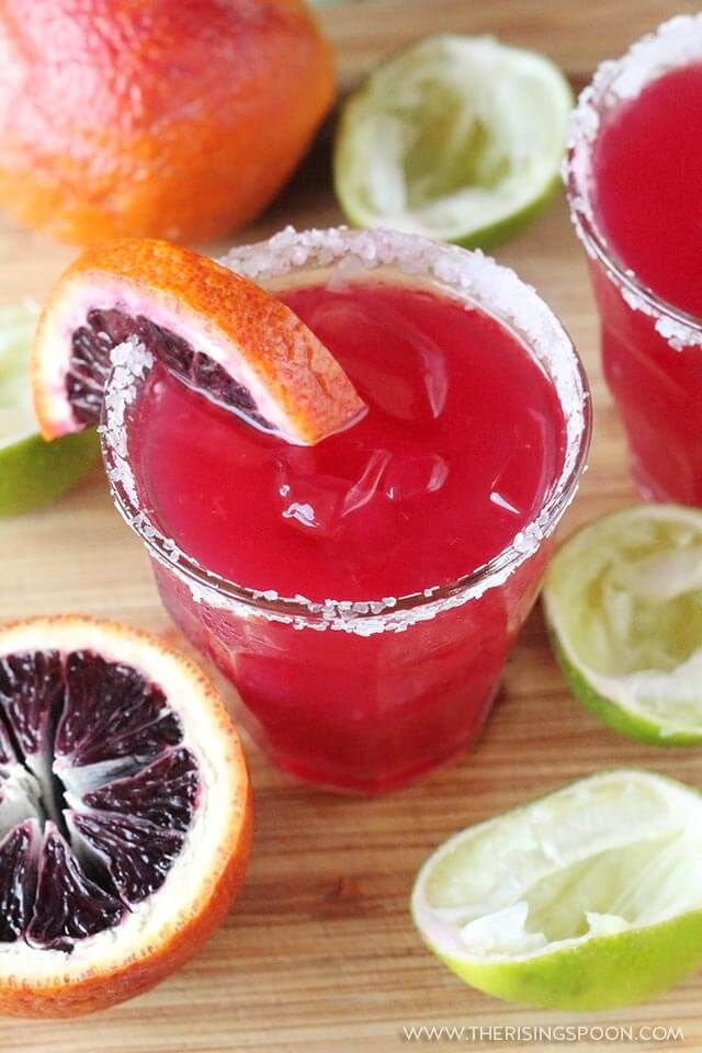 Simple Blood Orange Margaritas Recipe