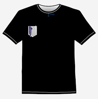 SNK - Scouting Legion T-Shirt Design Front