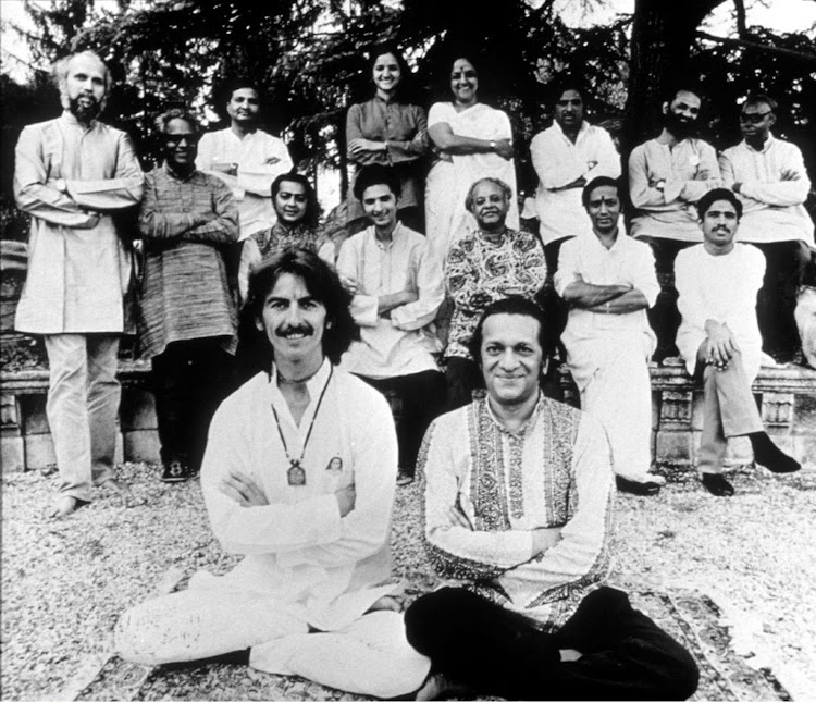 George Harrison and Pandit Ravi Shankar