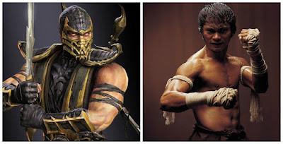 Tony Jaa sebagai Scorpion
