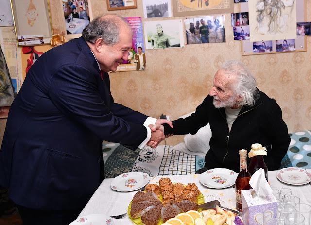 Manarian nombrado Artista Popular de Armenia