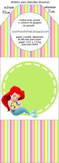 Para marcapáginas de  las Princesas Disney Bebés.