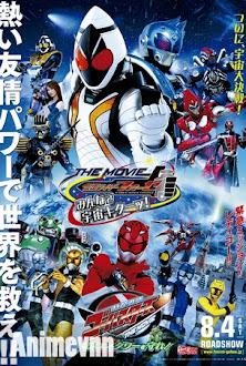 Tokumei Sentai Go-Busters the Movie -  2013 Poster