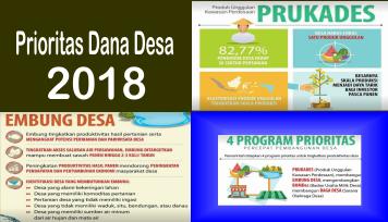Menteri Desa Pembangunan Daerah Tertinggal dan Trasmigrasi Republik Indonesia Prioritas Dana Desa 2018