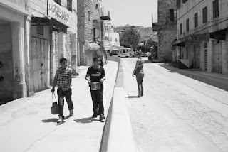 Shuhada Street in Hebron