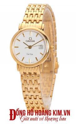 Đồng hồ nữ mạ vàng đẹp