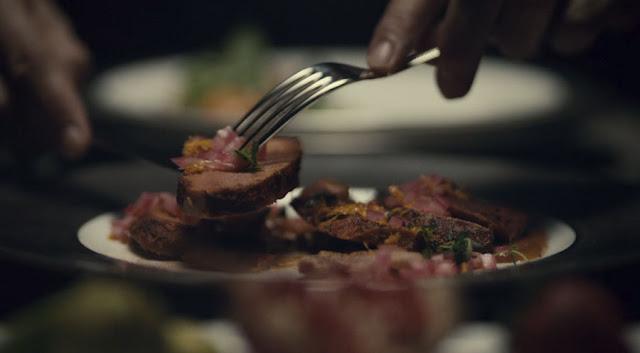 cortes de un redondo de carne