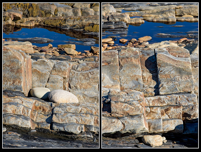 Nova Scotia; Gaff Point; Cliffs, Atlantic Ocean; Rocks; Iron Deposits