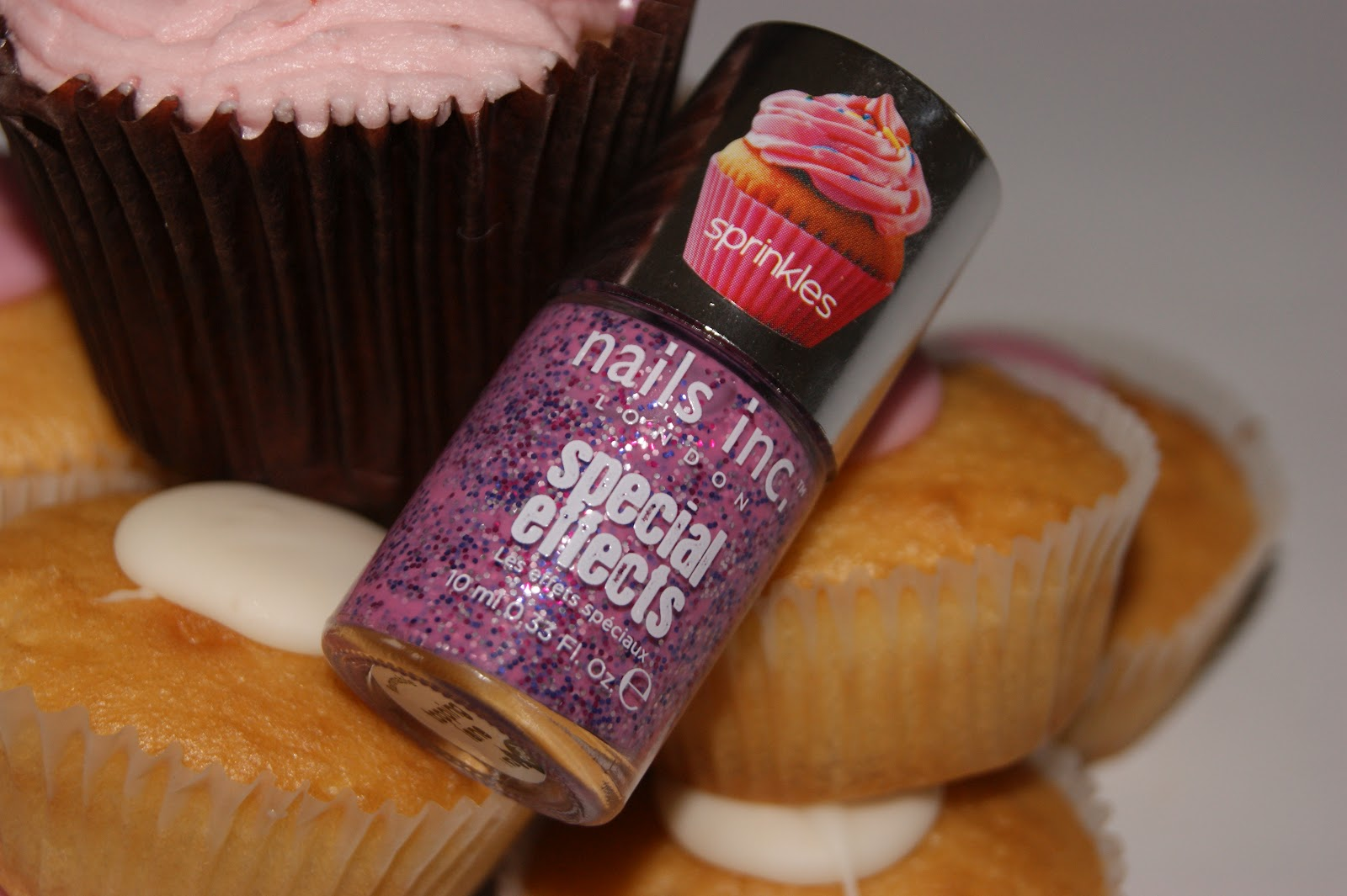 Nails Inc Special Effects Sprinkles Nail Polish In Topping Lane Review The Sunday Girl