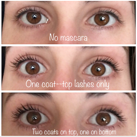 c4205d6c9f6 As you can see in the photos, this mascara lengthens, thickens and curls  your lashes with one coat. With two, it starts to get a bit clumpy and  spidery, ...
