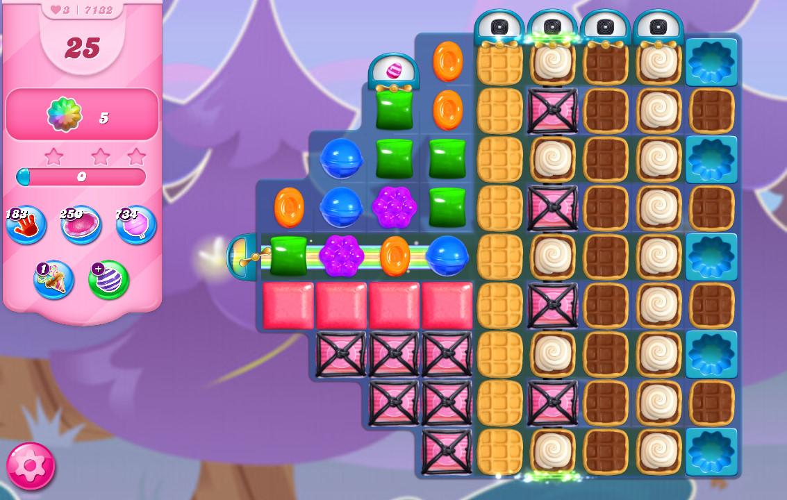 Candy Crush Saga level 7132