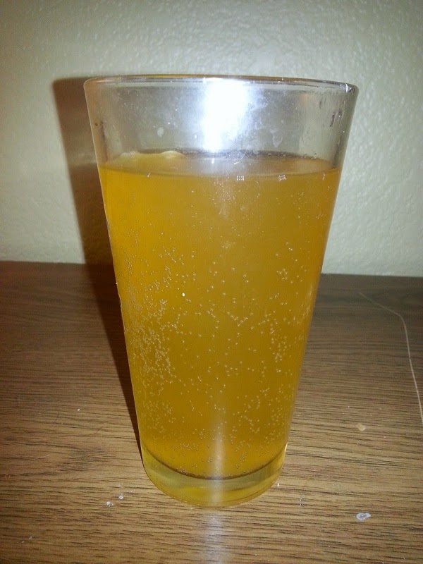 Pumpkin Cider Carbonated