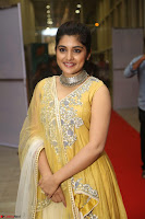 Nivetha Thamos in bright yellow dress at Ninnu Kori pre release function ~  Exclusive (35).JPG