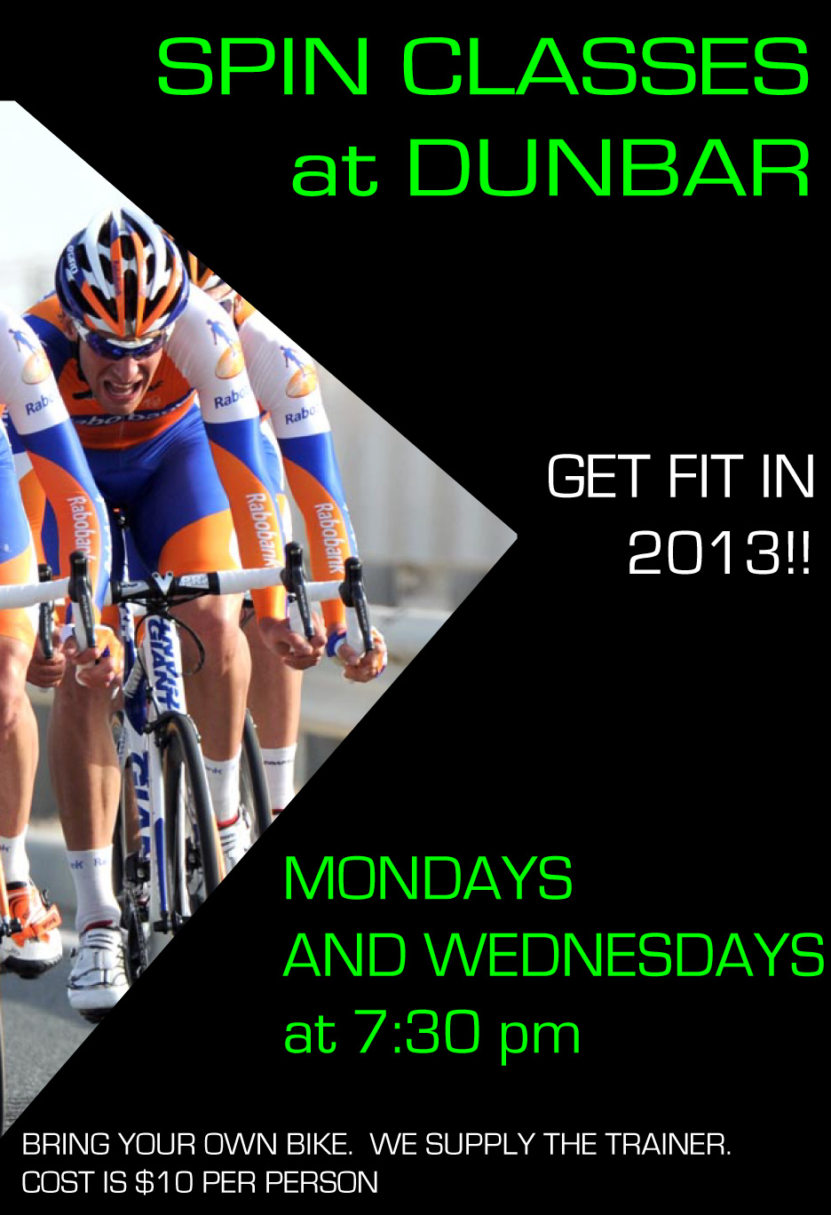 4790b3a10 Dunbar Cycles Events  Dunbar Cycles Spin Classes  Monday and ...