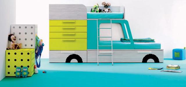 Dormitorios infantiles minimalistas recamaras minimalistas for Recamaras infantiles para ninos varones