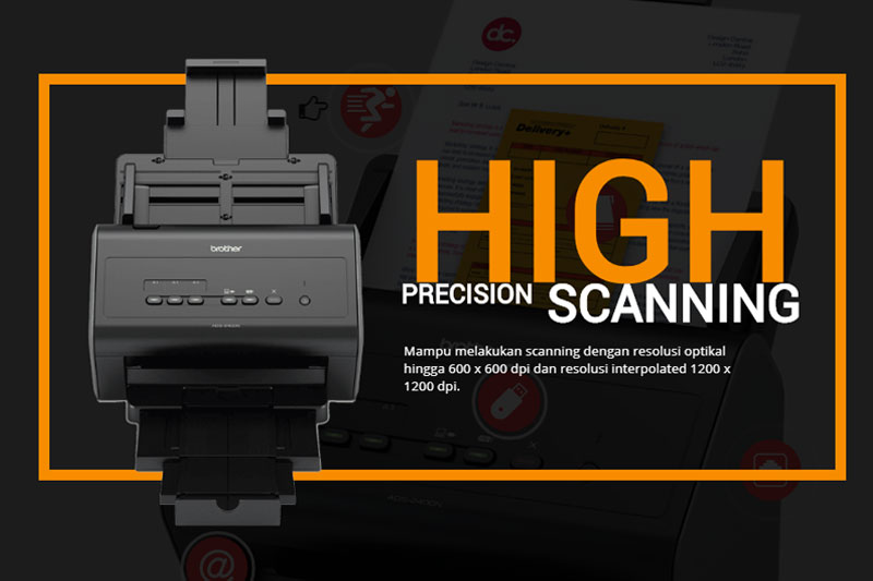 Keunggulan Scanner Brother ADS 2400N