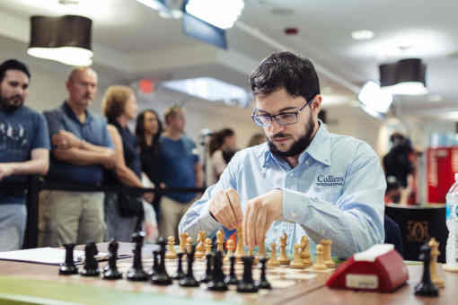 Le Français Maxime Vachier-Lagrave a terminé second au Rapide & Blitz de Saint-Louis - Photo © site officiel