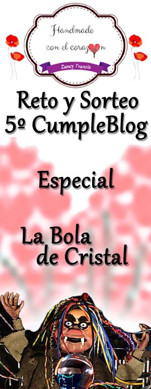 5º cumpleblog Handmade con el Corazón