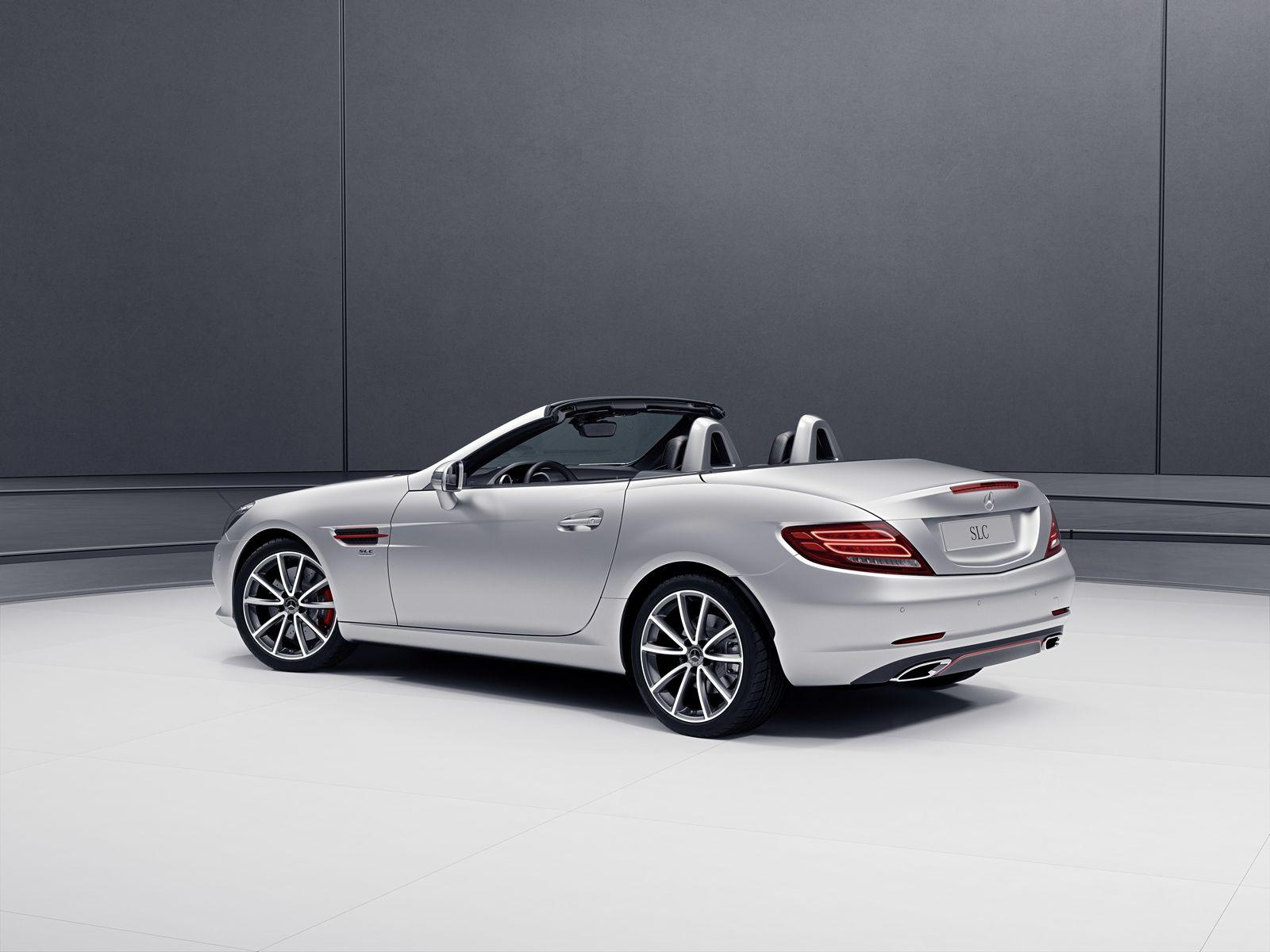 Mercedes-Benz SL And SLC Get Special Designo And RedArt ...