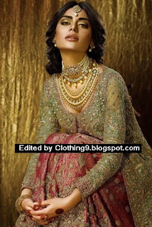 latest bridal wears collection by Faraz Manan