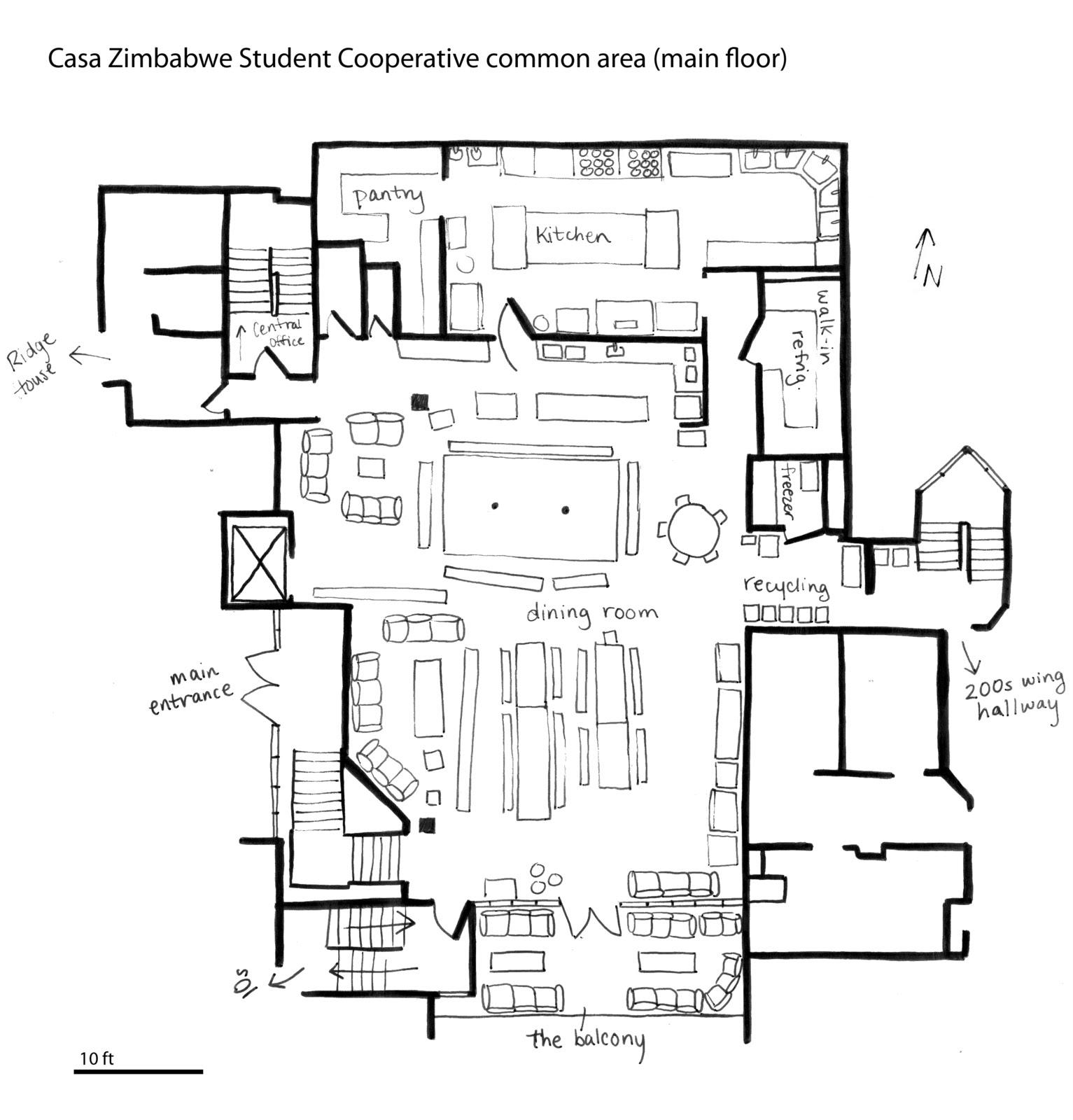 It's a Co-op: Casa Zimbabwe Student Co-op House, Berkeley