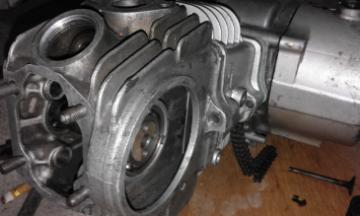 cara memasang bahagian top overhaul motosikal ex5 | Cakap Pomen Motor