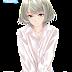 Tags: Render, Bare legs, Barefoot, Feet, Short hair, Takagaki Kaede, THE iDOLM@STER Cinderella Girls, Underwear