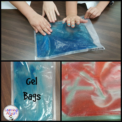 multisensory learning: gel bag