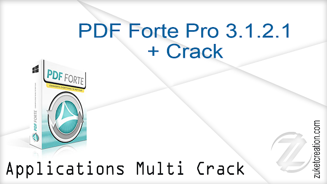 PDF Forte Pro 3.1.2.1 + Crack