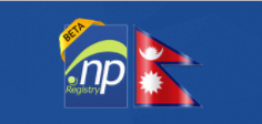 .np Domain Registration in Nepal-- Nepal flag and .np domain