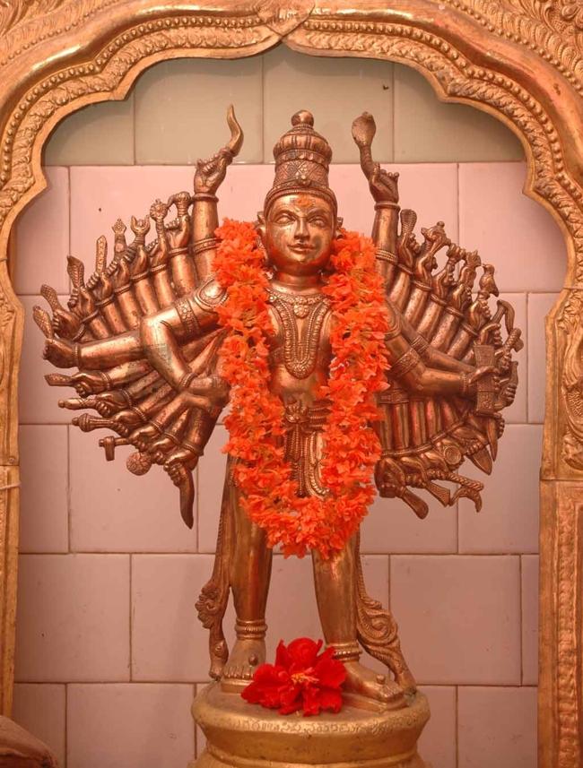 Procession Deity Of Sri Pralayakalada Veerabhadra Swamy Temple
