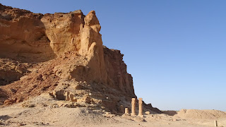 13 temples and 3 palaces are around Jebel Barkal