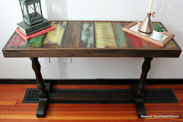 pallet wood boho rustic table