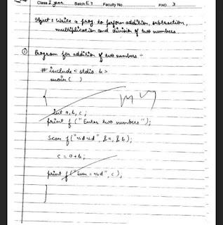 CP - Computer Programming Lab File - UD Kota