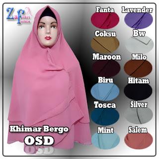 Khimar-OSD-bergo-2layer-terbaru-murah