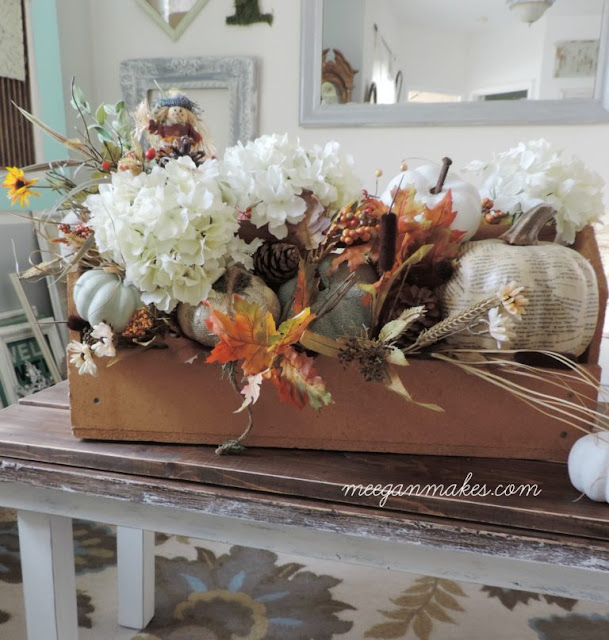 fall tool box centerpiece