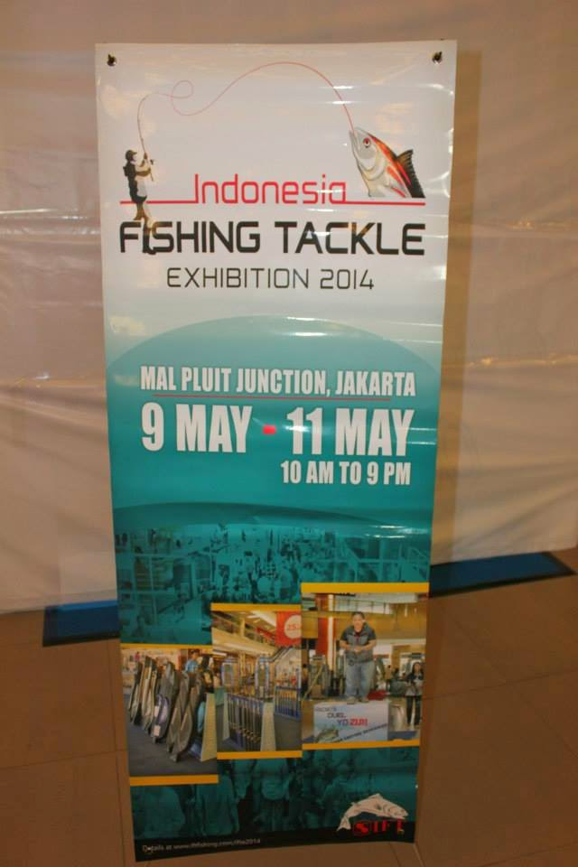 INDONESIA FISHING TACKLE EXHIBITION 2014