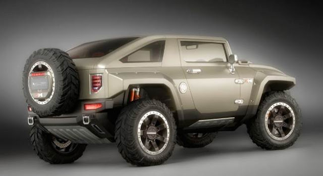 2018 Hummer HX Redesign